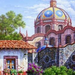 Jigsaw puzzle: Church of Santa Prisca