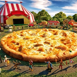 Jigsaw puzzle: Circus with cheese