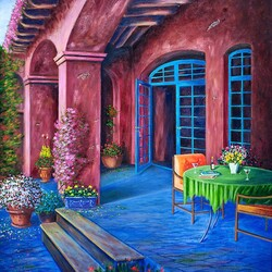 Jigsaw puzzle: Patio