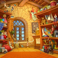 Jigsaw puzzle: Toy shop