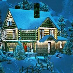 Jigsaw puzzle: Home for Christmas