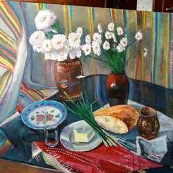 Jigsaw puzzle: Still life with bread