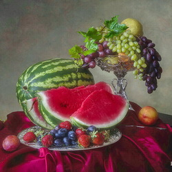 Jigsaw puzzle: Still life with berries