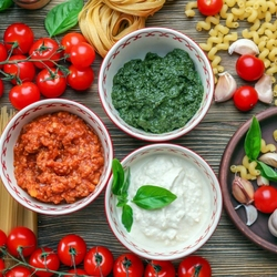 Jigsaw puzzle: Sauces for pasta