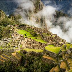 Jigsaw puzzle: In the territory of the Incas