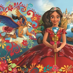 Jigsaw puzzle: Elena - Princess of Avalor