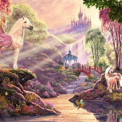 Jigsaw puzzle: Fairy world
