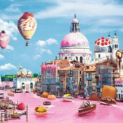 Jigsaw puzzle: Sweet Venice