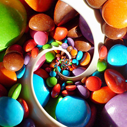 Jigsaw puzzle: Candy pills