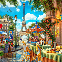 Jigsaw puzzle: Paris day off