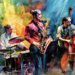 Jigsaw puzzle: Jazz band