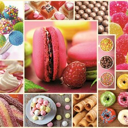 Jigsaw puzzle: Sweet collage