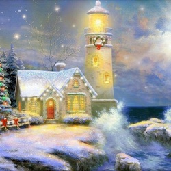Jigsaw puzzle: Lighthouse light