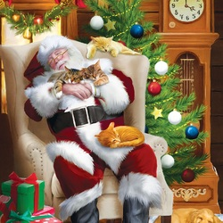 Jigsaw puzzle: Santa for everyone