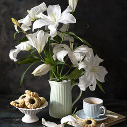 Jigsaw puzzle: Lilies