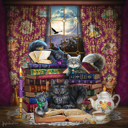 Jigsaw puzzle: Cat stories
