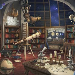 Jigsaw puzzle: Astrologer's office