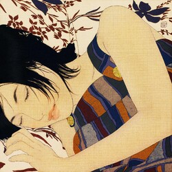 Jigsaw puzzle: Sleeping girl