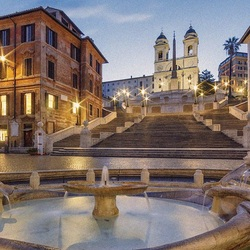 Jigsaw puzzle: Spanish Steps in Rome