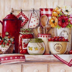 Jigsaw puzzle: Kitchen still life