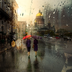 Jigsaw puzzle: Rainy day