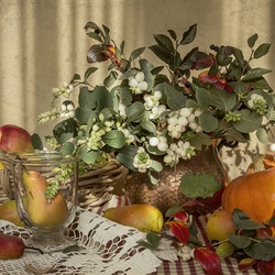 Jigsaw puzzle: About ripe autumn