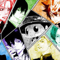 Jigsaw puzzle: Vongola