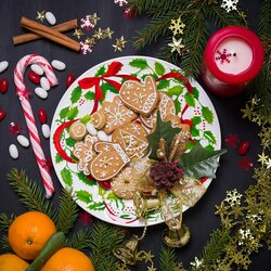 Jigsaw puzzle: Gingerbread Cookie