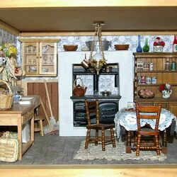 Jigsaw puzzle: Thorn Miniature Rooms