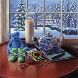 Jigsaw puzzle: Winter still life