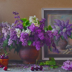 Jigsaw puzzle: Lilac has a special smell
