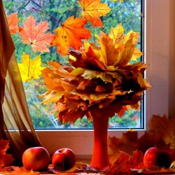 Jigsaw puzzle: Autumn leaves