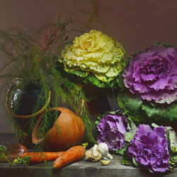 Jigsaw puzzle: Autumn still life