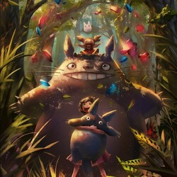 Jigsaw puzzle: My neighbor Totoro
