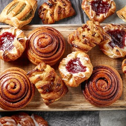 Jigsaw puzzle: Fresh bakery