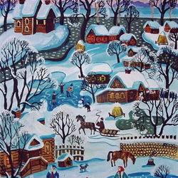 Jigsaw puzzle: Russian Winter