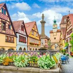 Jigsaw puzzle: Rothenburg