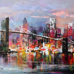 Jigsaw puzzle: The Brooklyn Bridge