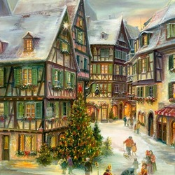 Jigsaw puzzle: Alsace