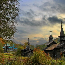 Jigsaw puzzle: Open air museum