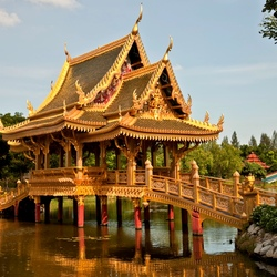 Jigsaw puzzle: Ancient siam