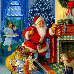 Jigsaw puzzle: Waiting for gifts