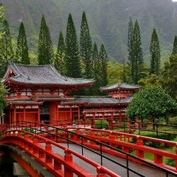 Jigsaw puzzle: Byodo-in Buddhist Temple