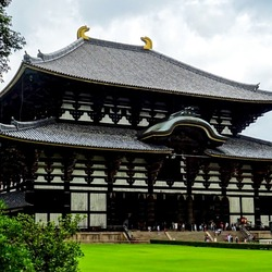 Jigsaw puzzle: Todaiji Temple
