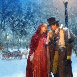 Jigsaw puzzle: Romantic walk