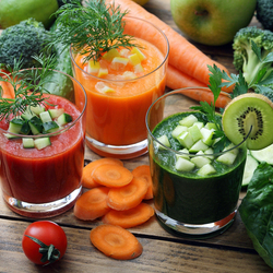 Jigsaw puzzle: Vegetable juices