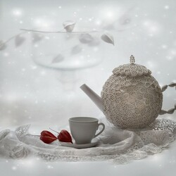Jigsaw puzzle: Winter tea