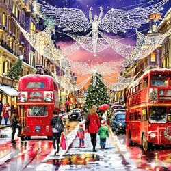 Jigsaw puzzle: The city meets Christmas