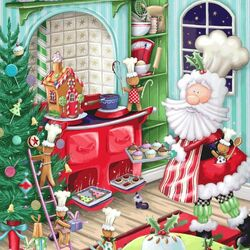 Jigsaw puzzle: Confectioner