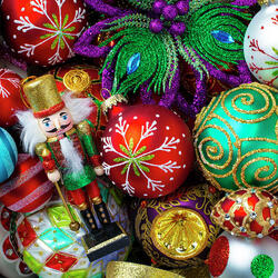 Jigsaw puzzle: Christmas decorations